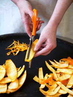How to make candied citrus peels More