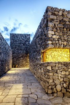 Archium gives stone walls to a radio broadcasting station in Nepal