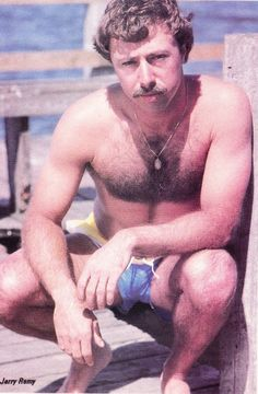 Here is Red Sox Announcer & Former Player Jerry Remy In 1984 Playgirl