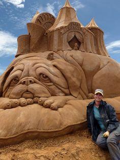 Susanne Ruseler, art, sculpture, sand sculptures