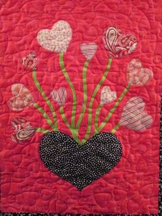 Valentine's Day quilt | Great Expectations Quilting (Ohio)