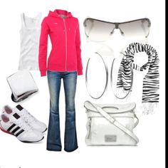Baseball, Football or Soccer Mom outfit! Love it!