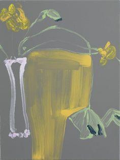 Gary Hume, Nasturtiums After Georgie (ii) 2012