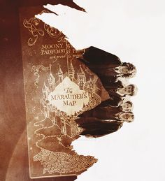 Moony, Wormatail, Padfoot, and Prongs. I solemnly swear I am up to no good.