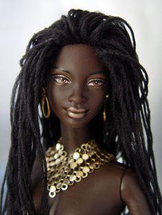 Barbie...only better!  http://www.tabloach.com/ Dreadlocks, Sisterlocks, Braids, and More at DreadStop.Com +dreadstop, @DreadStop