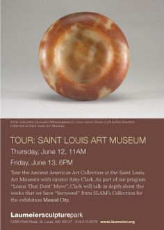 Tour the Ancient American Art Collection at the Saint Louis Art Museum with curator Amy Clark on June 12 at 11am. pic.twitter.com/4InXMcMUH7