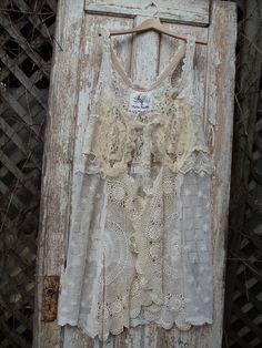 Long Crochet Lace Vest