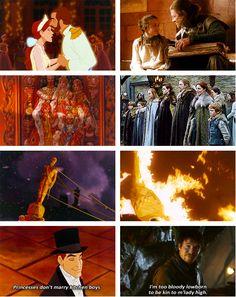 Anastasia vs Game of Thrones -- OMG it works so well!!