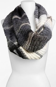 Love. Knit infinity scarf