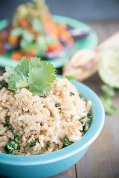 Cilantro Cumin Cauliflower Rice - Amazing Mexi-flavored side dish - Kid friendly food - Eat Your Beets