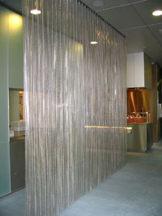 Chain curtain room divider - Curtains Room Iders And Separations On Pinterest Golf Room
