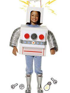 Quick and Easy DIY Halloween Costumes: Robot (via Parents.com)