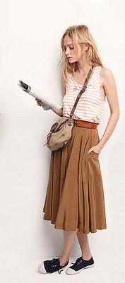 midi skirts, summer styles, casual summer, skirts and sneakers, long skirts, sneakers and dress, travel style, travel outfits, maxi skirts