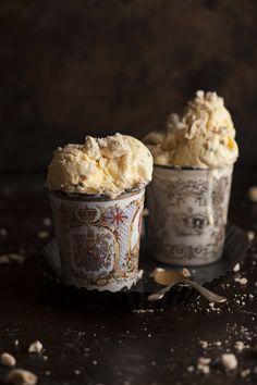 passionfruit meringue ice cream