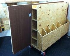 Lumber Storage Rack & Cart