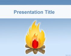 Free Bonfire PowerPoint Template