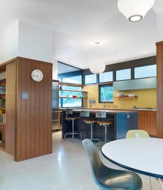 Link to the Dwell Article about this 1957 house renovation; Rick & Cindy Black Architects