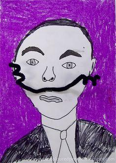 Dali inspired portraits