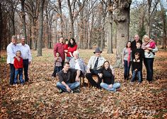 Media Frenzy - Creative Family Photography, Large Family Picture Idea