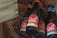 Worn, woody, and rustic! Oast House Brewers.