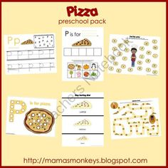 P is for Pizza {free}