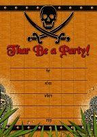Pirate #party #invitation