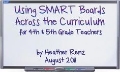 using Smart Boards - tons of links