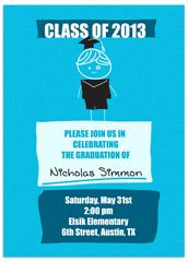 Elementary 5th Grade Graduation Announcement Sample