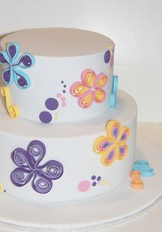 cute cake for girls bday