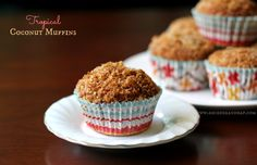 Tropical Coconut Muffins