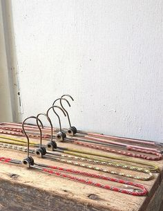 Vintage Folding Clothes Hangers  an instant collection by raemj, $23.00