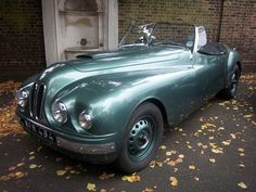 Talk about a sweet ride... I must have this car!1951 Bristol 401 BMW.