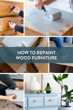 Did you find an old painted dresser or ugly cabinet that you want to spruce up? There's a right way to do it, and we're here to share how in 10 easy steps.     #How-To, #dresser, #painted furniture, #Makeover-Mondays, #DIY, #Curbly-Original, #DIY, #Furnit