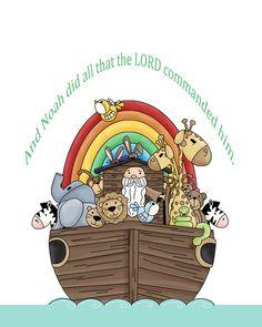 Noah's Ark.....I love Noah's Ark!
