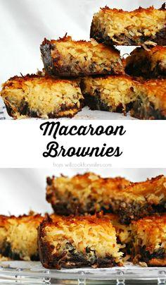 Macaroon Brownies. D