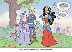 What if Wonder Woman was a Disney Princess?