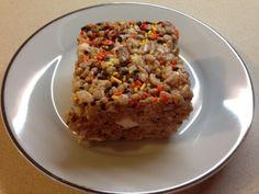 Pumpkin Spice Rice Krispie Bars - Blogging Mom of 4