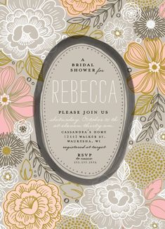 alethea and ruth invitation / print