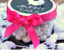 Easter Treats for Kids and Free Printable Labels - Uncommon Designs |