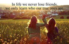 past friendship quotes, true friend