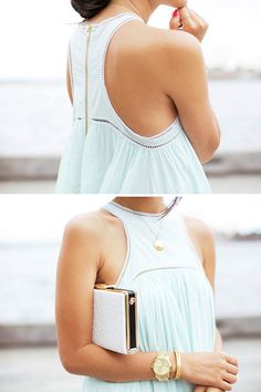 fashion, mint green, color, dress, clutch