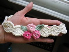 free baby headband crochet pattern