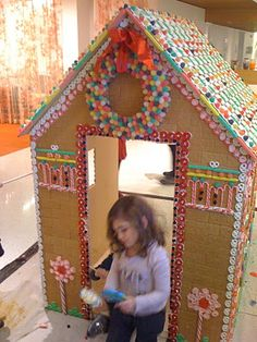 the little house in the city: The Famed Life-Sized Gingerbread House