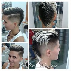 ... shaved, hard part, high and tight, Mohawk, trends, nape shaved, hair