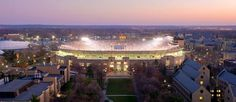 Game Day favorit place, games, dame stadium, night game, fight irish, notr dame, thee notr, footbal, south bend