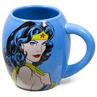 Wonder Woman Curved Coffee Mug #retro #wonderwoman  http://www.retroplanet.com/PROD/30714