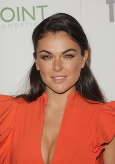 Serinda Swan Long Straight Cut