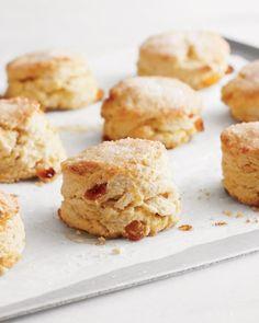 Candied Orange and Golden Raisin Scones Recipe