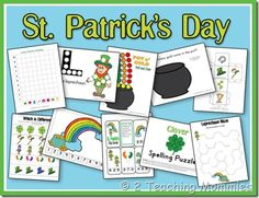 St. Patrick's Day Preschool Unit