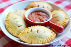 Football Pizza Pockets